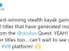 更多开发者自曝其游戏在Quest平台收入破100万美元