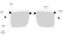 Facebook AR眼镜专利,对FOV和分辨率优化