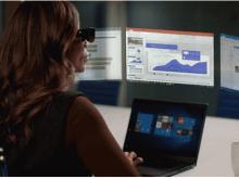 联想推出新型AR眼镜,可投影出5个虚拟显示器