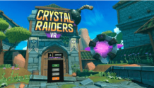 《Cave Digger》团队 VRKiwi 发布多人冒险游戏《Crystal Raiders VR》