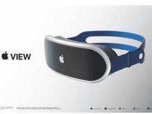 设计师根据传闻制作苹果MR头显渲染图