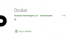 Oculus应用程序安卓版下载超500万次