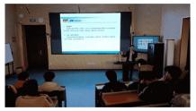 外籍院士王立军来山东外贸职业学院指导虚拟现实专业建设