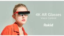 Rokid为其4K AR 眼镜发起Kickstarter众筹活动
